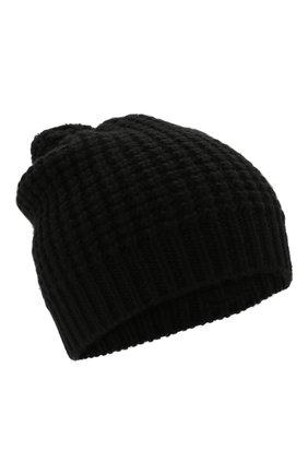 Детского шерстяная шапка DOLCE & GABBANA черного цвета, арт. LBKH68/JBVJ0 | Фото 1