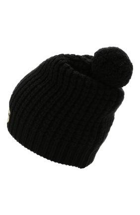 Детского шерстяная шапка DOLCE & GABBANA черного цвета, арт. LBKH68/JBVJ0 | Фото 2