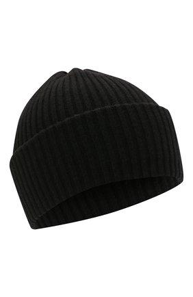 Детского шерстяная шапка CATYA черного цвета, арт. 125698 | Фото 1