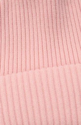Детского шерстяная шапка CATYA розового цвета, арт. 125698 | Фото 3 (Материал: Кашемир, Шерсть)