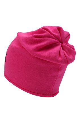 Детского шерстяная шапка CATYA фуксия цвета, арт. 125663 | Фото 2