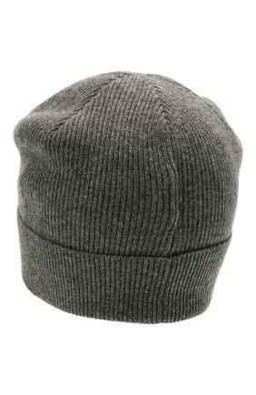 Детского кашемировая шапка BRUNELLO CUCINELLI темно-серого цвета, арт. B12M11299C | Фото 2