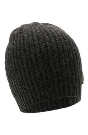 Детского кашемировая шапка BRUNELLO CUCINELLI темно-серого цвета, арт. B52M50299A | Фото 1