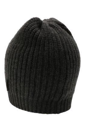 Детского кашемировая шапка BRUNELLO CUCINELLI темно-серого цвета, арт. B52M50299A | Фото 2