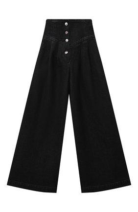 Детские джинсы FENDI черного цвета, арт. JFF237/AG3B/8A-12+ | Фото 1