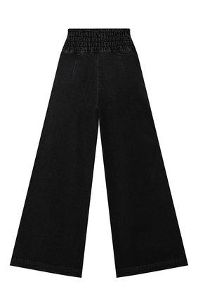 Детские джинсы FENDI черного цвета, арт. JFF237/AG3B/8A-12+ | Фото 2
