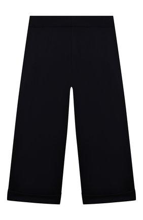 Детские брюки из вискозы DAL LAGO темно-синего цвета, арт. R208A/8111/7-12   Фото 2