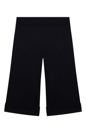 Детские брюки из вискозы DAL LAGO темно-синего цвета, арт. R208A/8111/4-6   Фото 2
