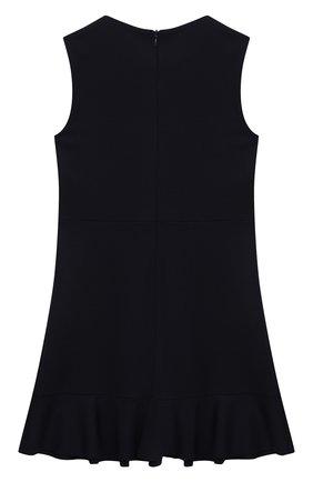 Детское платье из вискозы DAL LAGO темно-синего цвета, арт. R305A/8111/4-6   Фото 2