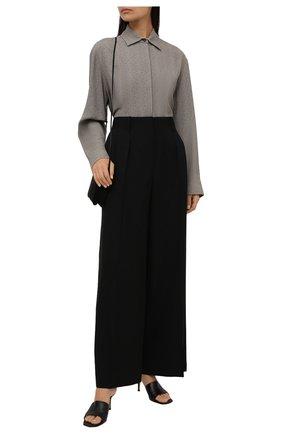 Женская рубашка THE ROW серого цвета, арт. 3023W1622 | Фото 2