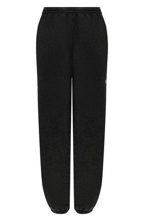 Женские хлопковые джоггеры DANIILBERG серого цвета, арт. DBFW2017 | Фото 1 (Материал внешний: Хлопок; Длина (брюки, джинсы): Стандартные; Женское Кросс-КТ: Джоггеры - брюки, Брюки-спорт; Силуэт Ж (брюки и джинсы): Джоггеры; Стили: Спорт-шик)