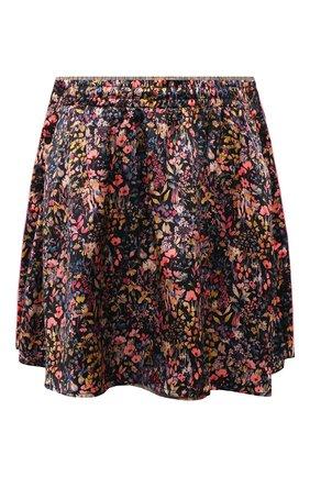 Женская шелковая юбка Y/PROJECT разноцветного цвета, арт. WSKIRT55-S20 F91 | Фото 1 (Материал внешний: Шелк; Длина Ж (юбки, платья, шорты): Мини; Женское Кросс-КТ: Юбка-одежда; Стили: Романтичный; Материал подклада: Шелк)