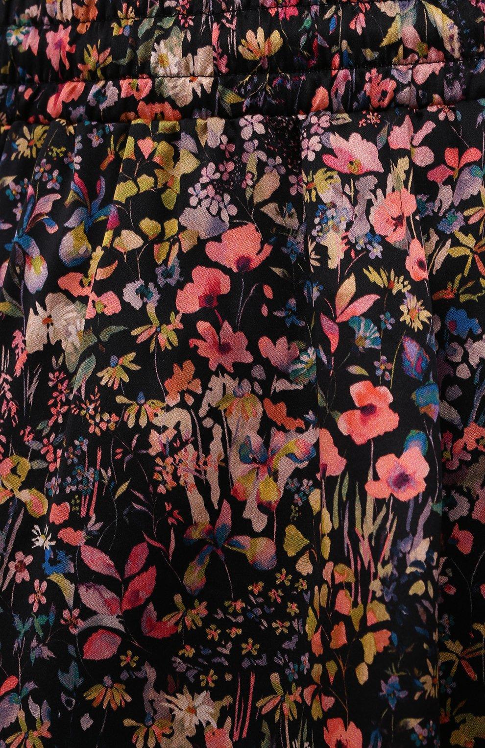 Женская шелковая юбка Y/PROJECT разноцветного цвета, арт. WSKIRT55-S20 F91 | Фото 5 (Материал внешний: Шелк; Длина Ж (юбки, платья, шорты): Мини; Женское Кросс-КТ: Юбка-одежда; Стили: Романтичный; Материал подклада: Шелк)