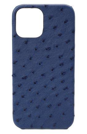 Чехол для iphone 12 pro max 2MESTYLE голубого цвета, арт. DD407 | Фото 1