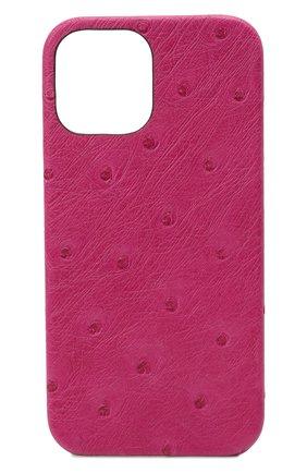 Чехол для iphone 12 pro max 2MESTYLE фуксия цвета, арт. DD405 | Фото 1