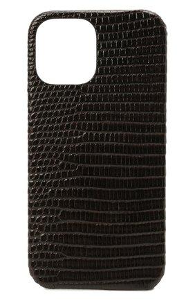Чехол для iphone 12 pro max 2MESTYLE темно-коричневого цвета, арт. DD417/VNIL | Фото 1