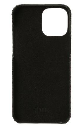 Чехол для iphone 12 pro max 2MESTYLE темно-коричневого цвета, арт. DD417/VNIL | Фото 2