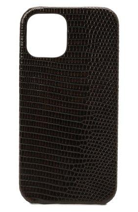 Чехол для iphone 12 pro 2MESTYLE темно-коричневого цвета, арт. DD416/VNIL | Фото 1