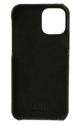 Чехол для iphone 12 pro 2MESTYLE темно-коричневого цвета, арт. DD416/VNIL | Фото 2