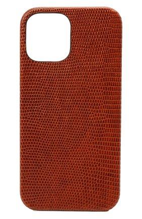 Чехол для iphone 12 pro max 2MESTYLE коричневого цвета, арт. DD415/VNIL | Фото 1
