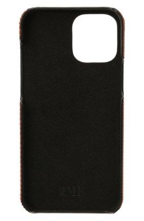 Чехол для iphone 12 pro max 2MESTYLE коричневого цвета, арт. DD415/VNIL | Фото 2