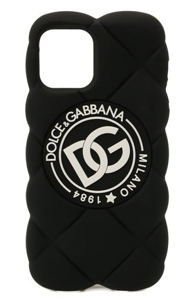Чехол для iphone 12 pro DOLCE & GABBANA черного цвета, арт. BI3028/AQ374   Фото 1
