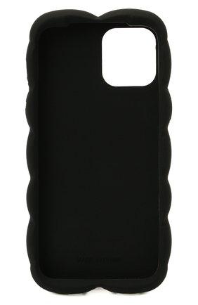 Чехол для iphone 12 pro DOLCE & GABBANA черного цвета, арт. BI3028/AQ374   Фото 2