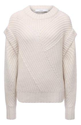 Женский шерстяной свитер IRO белого цвета, арт. WP12ACIA | Фото 1