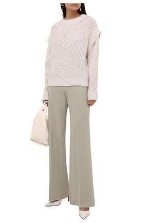 Женский шерстяной свитер IRO белого цвета, арт. WP12ACIA | Фото 2