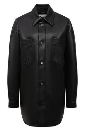 Женская куртка NANUSHKA черного цвета, арт. NU21PF0W00599   Фото 1