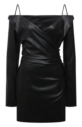 Женское платье NANUSHKA черного цвета, арт. NW21PFDR00999   Фото 1