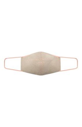 Женского маска для лица STELLA MCCARTNEY светло-розового цвета, арт. 602935/S2271 | Фото 2 (Материал: Хлопок, Текстиль; Мужское Кросс-КТ: Маска)