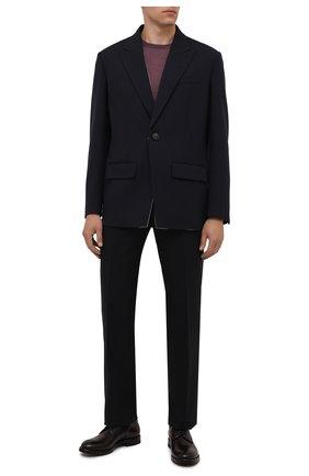 Мужские кожаные дерби W.GIBBS темно-коричневого цвета, арт. 0220001/2302 | Фото 2