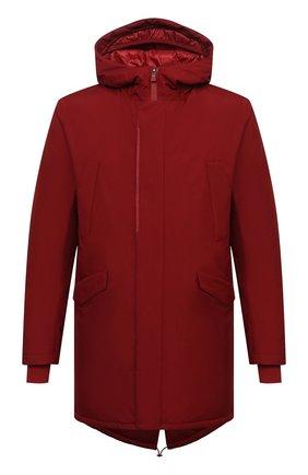Мужская пуховая парка HERNO красного цвета, арт. PI100UL/11121 | Фото 1