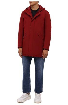 Мужская пуховая парка HERNO красного цвета, арт. PI100UL/11121 | Фото 2