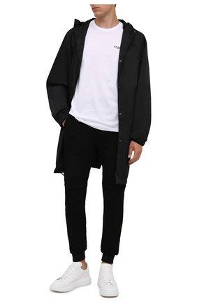 Мужские джоггеры BALMAIN черного цвета, арт. WH10B000/J296 | Фото 2