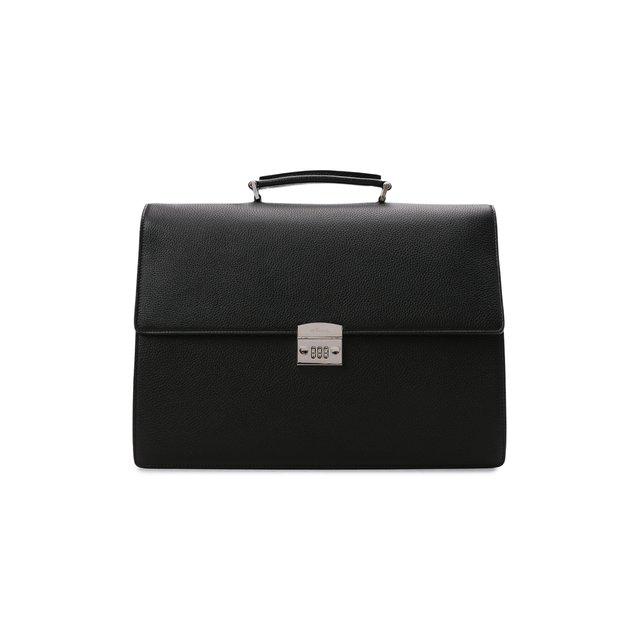 Кожаный портфель Kiton