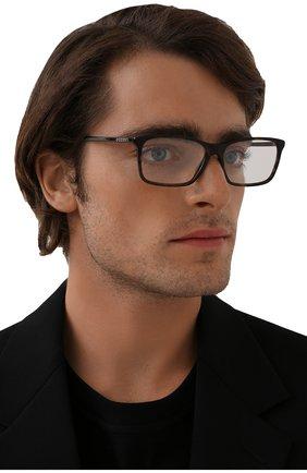 Мужские оправа GUCCI коричневого цвета, арт. GG0553 006 | Фото 2