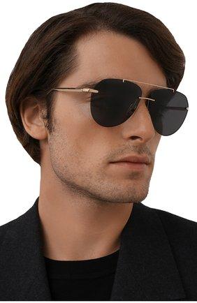 Мужские солнцезащитные очки CHOPARD золотого цвета, арт. F20 300P | Фото 2 (Тип очков: С/з)