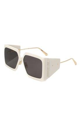 Женские солнцезащитные очки DIOR белого цвета, арт. DI0RS0LAR S1U 95A0 | Фото 1 (Тип очков: С/з)