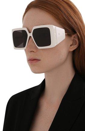 Женские солнцезащитные очки DIOR белого цвета, арт. DI0RS0LAR S1U 95A0 | Фото 2 (Тип очков: С/з)