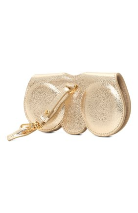 Женские кожаный футляр для очков ANY DI золотого цвета, арт. SP101602 G0LD | Фото 2