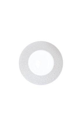 Тарелка для хлеба и масла ecume perle BERNARDAUD белого цвета, арт. 1975/20251 | Фото 1 (Ограничения доставки: fragile-2)