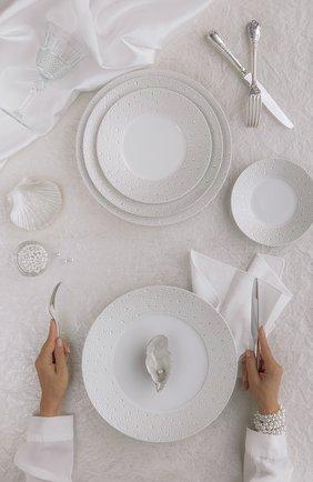 Кофейная чашка с блюдцем ecume perle BERNARDAUD белого цвета, арт. 1975/20451 | Фото 2 (Ограничения доставки: fragile-2)