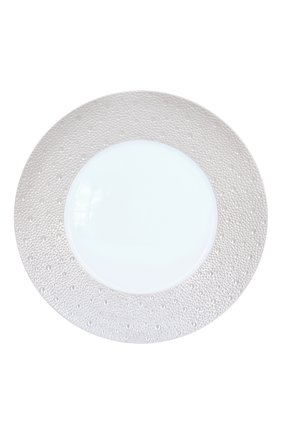 Тарелка сервировочная ecume perle BERNARDAUD белого цвета, арт. 1975/7 | Фото 1 (Ограничения доставки: fragile-2)