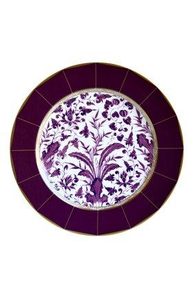 Тарелка сервировочная prunus BERNARDAUD фиолетового цвета, арт. 1831/7 | Фото 1 (Ограничения доставки: fragile-2)