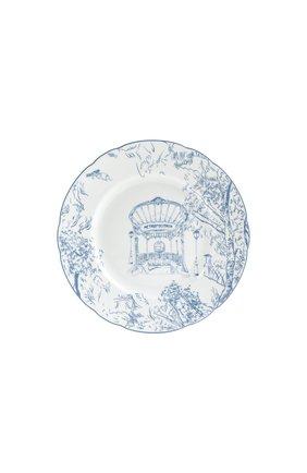 Тарелка салатная tout paris BERNARDAUD голубого цвета, арт. 1980/17 | Фото 1 (Ограничения доставки: fragile-2)