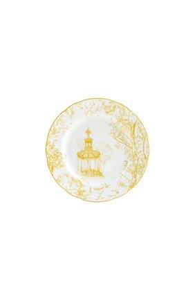 Тарелка пирожковая tout paris BERNARDAUD желтого цвета, арт. 1980/3 | Фото 1 (Ограничения доставки: fragile-2)