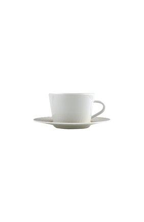 Чайная чашка с блюдцем twist again BERNARDAUD золотого цвета, арт. 1981/89 | Фото 1