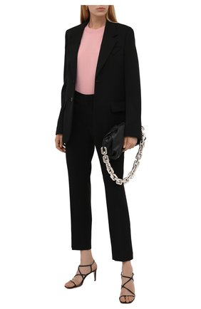 Женский шерстяной пуловер LORO PIANA розового цвета, арт. FAL6605/VVIC   Фото 2